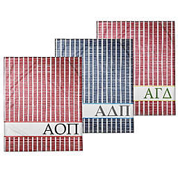 Designs Direct Sorority Squares Throw Blanket Collection