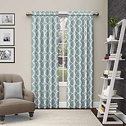 Pairs to Go™ Vickery 2-Pack 63-Inch Rod Pocket Window Curtain Panels in Spa