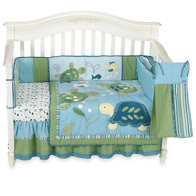 Cocalo Baby Turtle Reef 6 Piece Crib Bedding Set