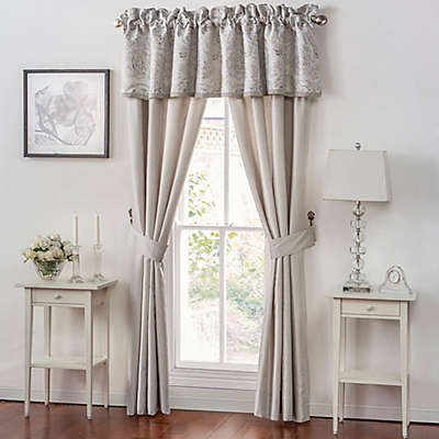 Waterford® Sophia Window Curtain Panels and Valance