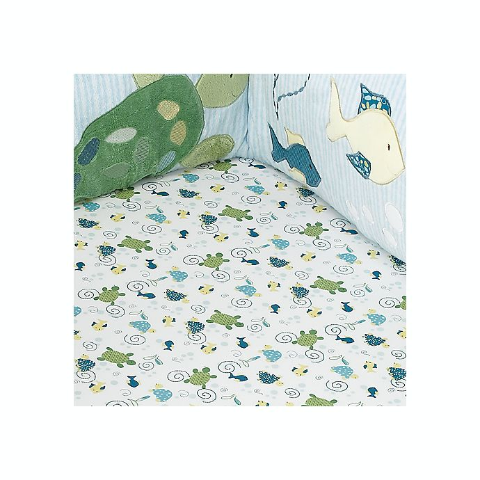 Cocalo Baby 174 Turtle Reef Fitted Crib Sheet Bed Bath Amp Beyond