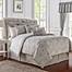 Part of the Waterford® Sophia Reversible Comforter Set