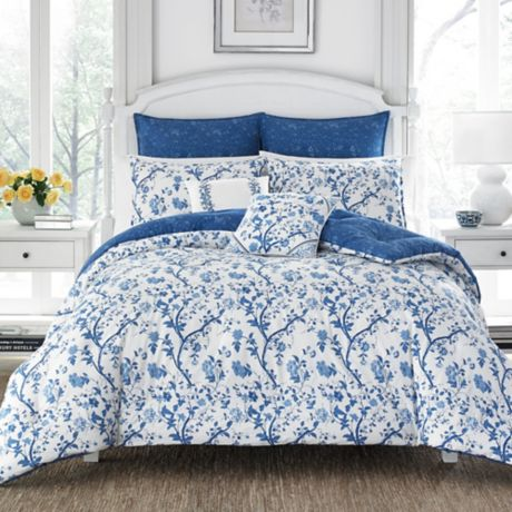 laura ashley elise comforter set bed bath beyond. Black Bedroom Furniture Sets. Home Design Ideas