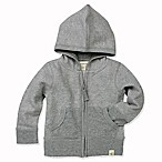 Burt's Bees Baby® Size 3-6M Loose Pique Hoodie in Grey