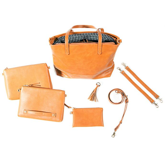 Alternate image 1 for Bella Tunno™ Boss 5-in-1 Diaper Bag in Cognac