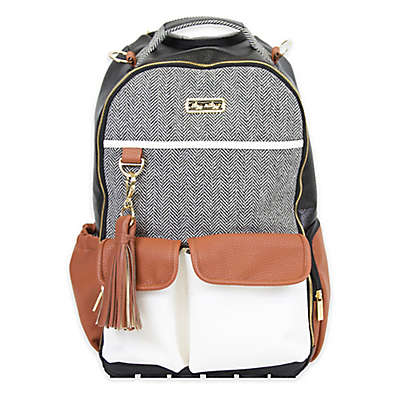 Itzy Ritzy® Backpack Diaper Bag Backpack in Brown/Cream