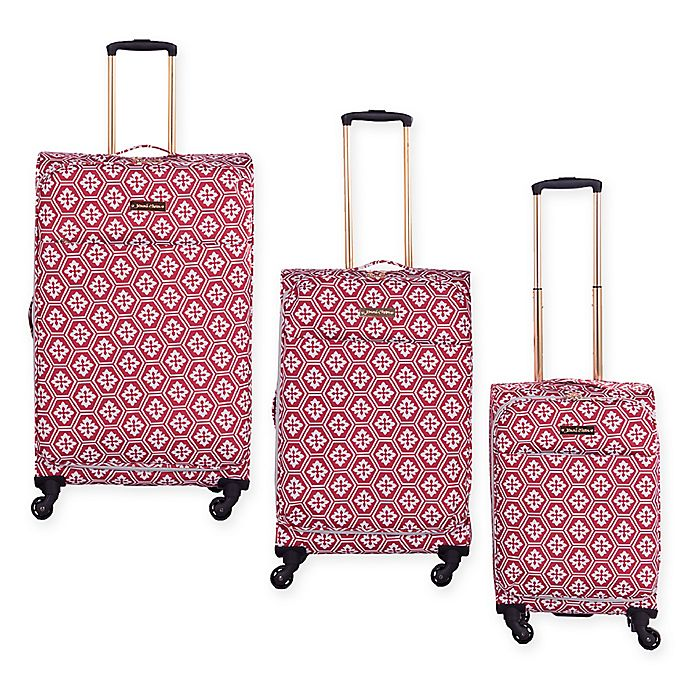 Alternate image 1 for Jenni Chan Aria Snow Flake Luggage Collection