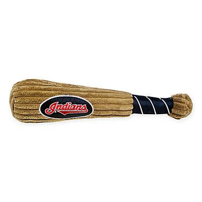 MLB Cleveland Indians Baseball Bat Pet Toy