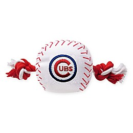 MLB Chicago Cubs Baseball Pet Rope Toy