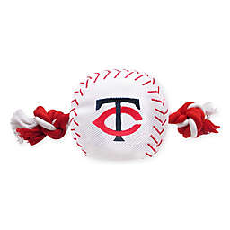 MLB Minnesota Twins Baseball Pet Rope Toy