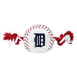 MLB Detroit Tigers Baseball Pet Rope Toy