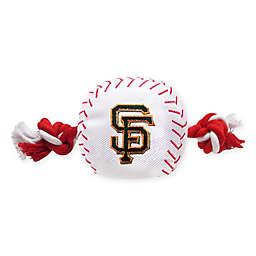 MLB San Francisco Giants Baseball Pet Rope Toy