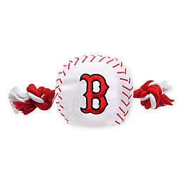 MLB Boston Red Sox Baseball Pet Rope Toy