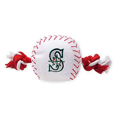 MLB Seattle Mariners Baseball Pet Rope Toy