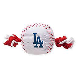 MLB Los Angeles Dodgers Baseball Pet Rope Toy