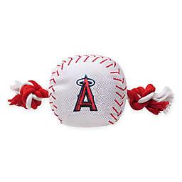 MLB Los Angeles Angels Baseball Pet Rope Toy
