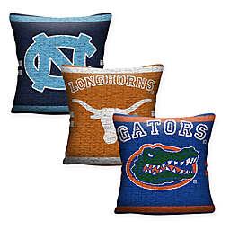 Collegiate Woven Square Throw Pillow