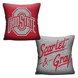 Ohio State University Woven Square Throw Pillow