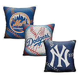 MLB Woven Square Throw Pillow
