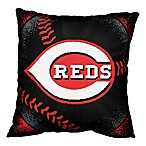 MLB Cincinnati Reds Woven Square Throw Pillow