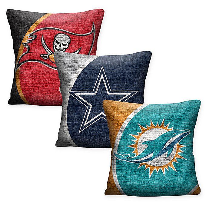 d0f2e75e NFL Woven Square Throw Pillow | Bed Bath & Beyond