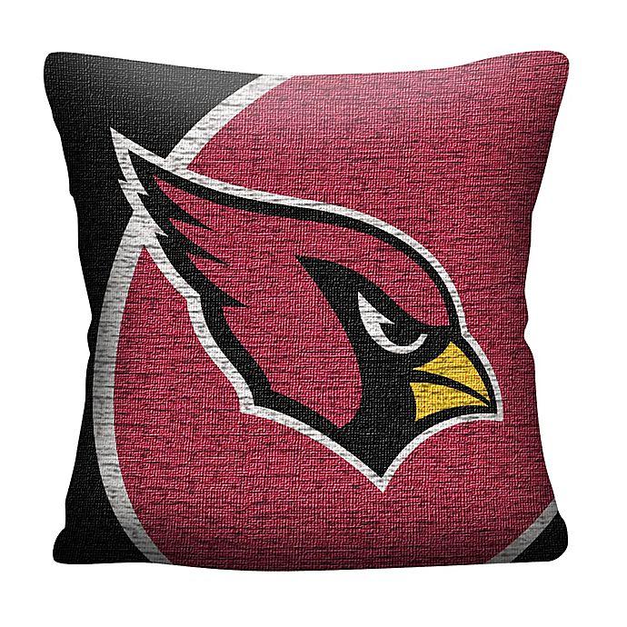 7adbf916 NFL Arizona Cardinals Woven Square Throw Pillow | Bed Bath & Beyond