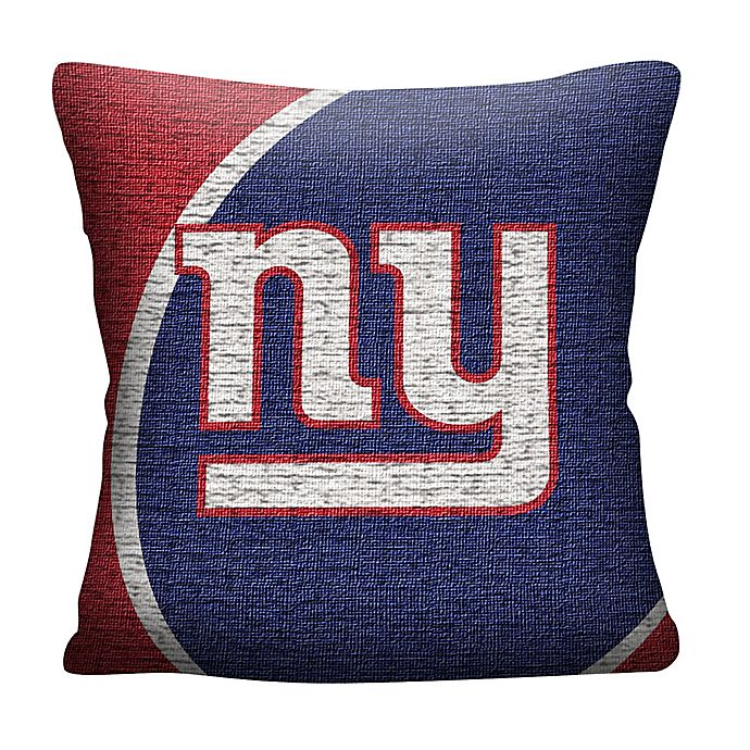 Super Nfl New York Giants Woven Square Throw Pillow Alphanode Cool Chair Designs And Ideas Alphanodeonline