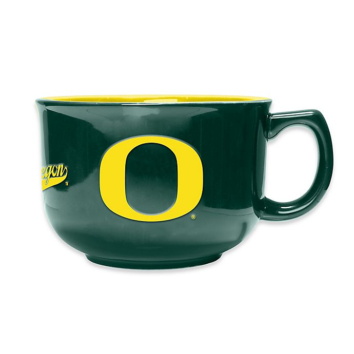 Alternate image 1 for University of Oregon 32 oz. Soup Mug