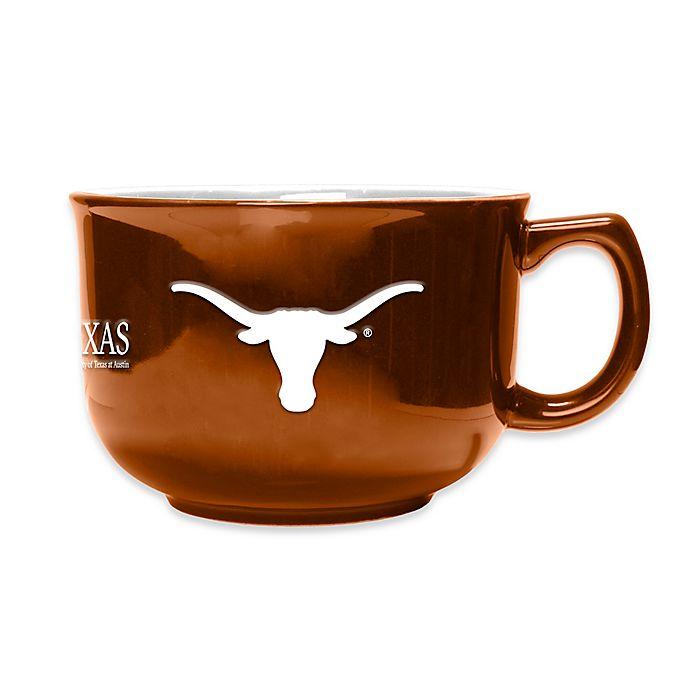 Alternate image 1 for University of Texas 32 oz. Soup Mug