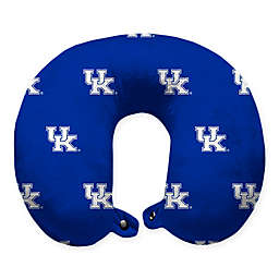 University of Kentucky Plush Microfiber Travel Pillow with Snap Closure