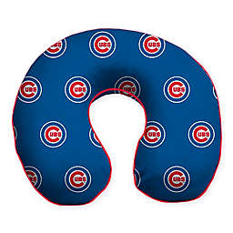 MLB Chicago Cubs Plush Microfiber Travel Pillow
