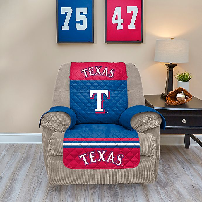 Alternate image 1 for MLB Texas Rangers Recliner Protector