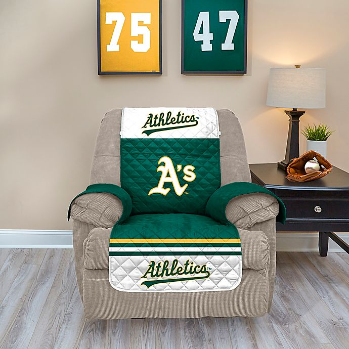 Alternate image 1 for MLB Oakland Athletics Recliner Protector