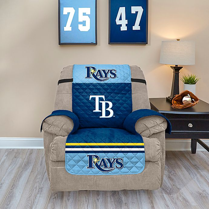 Alternate image 1 for MLB Tampa Bay Rays Recliner Protector