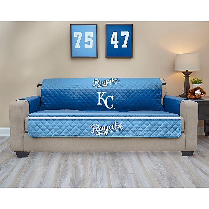 Mlb Kansas City Royals Sofa Cover Bed, Living Room Furniture Kansas City