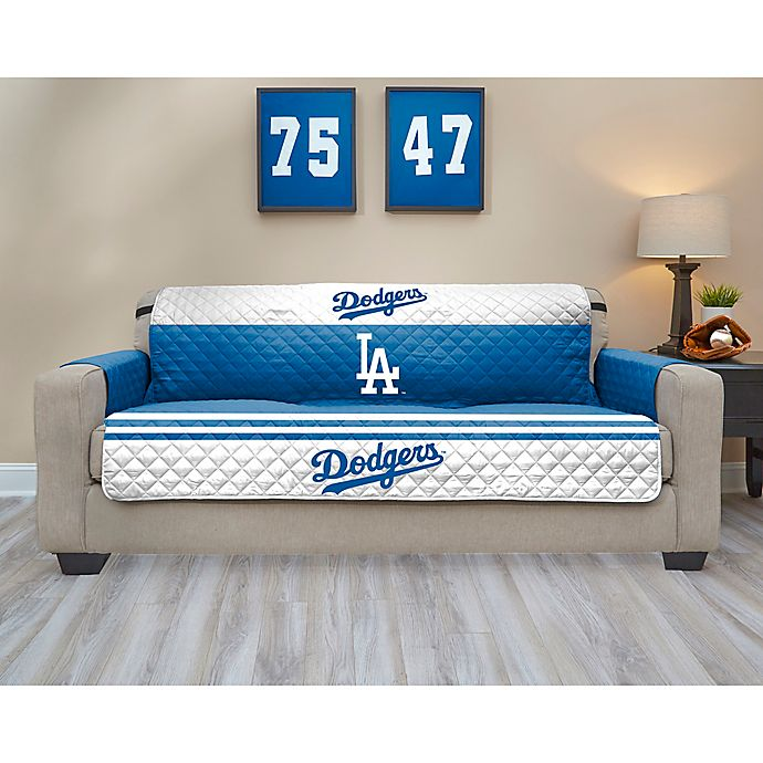 Alternate image 1 for MLB Los Angeles Dodgers Sofa Cover