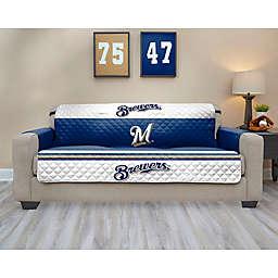 MLB Milwaukee Brewers Sofa Cover