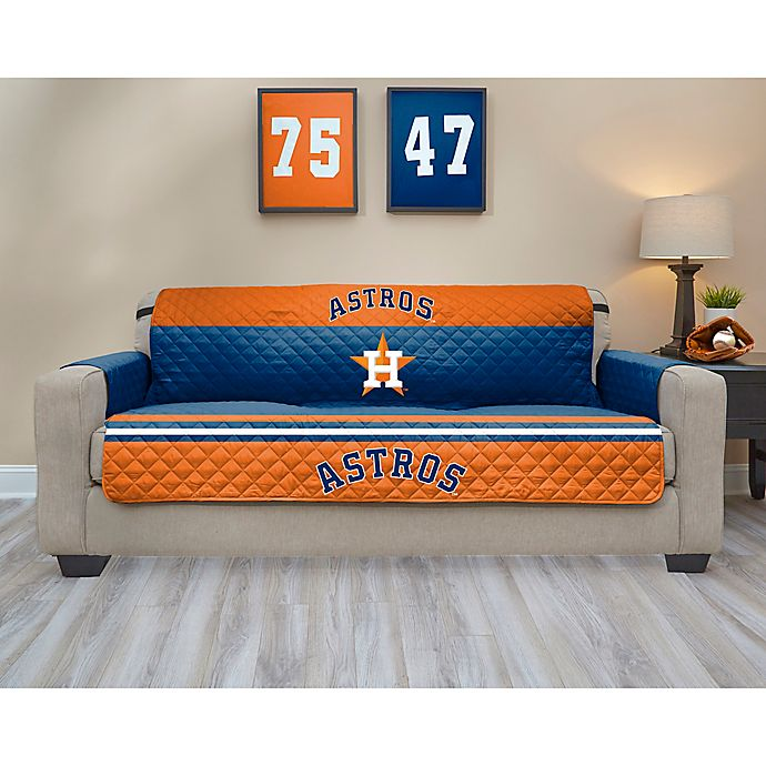 Alternate image 1 for MLB Houston Astros Sofa Cover