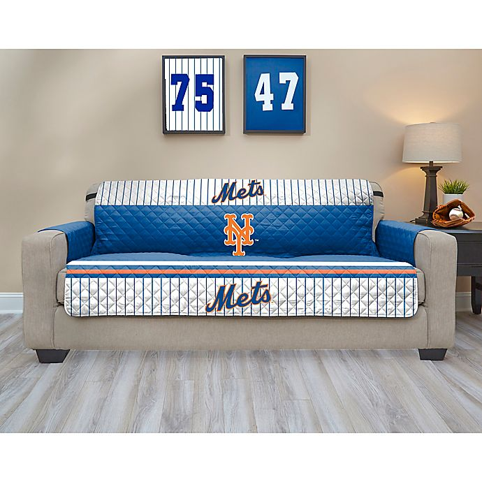Alternate image 1 for MLB New York Mets Sofa Cover