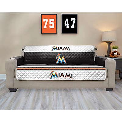 MLB Miami Marlins Sofa Cover