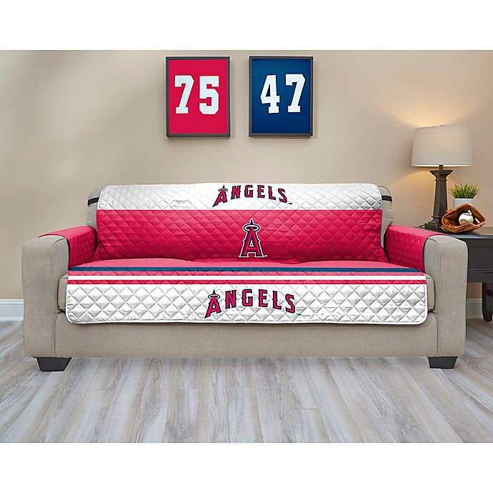 Alternate image 1 for MLB Los Angeles Angels Sofa Cover