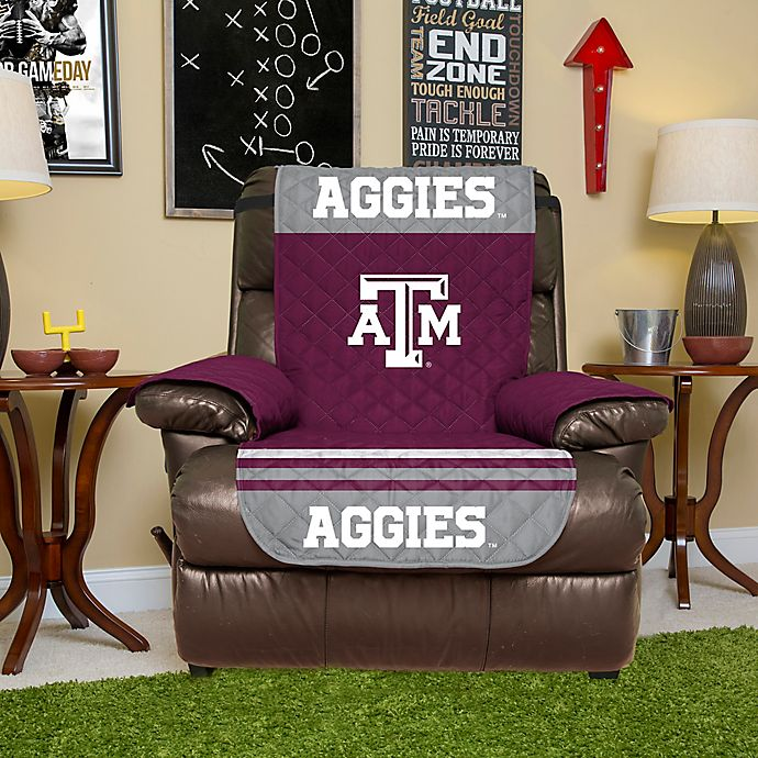 Texas A M University Recliner Cover