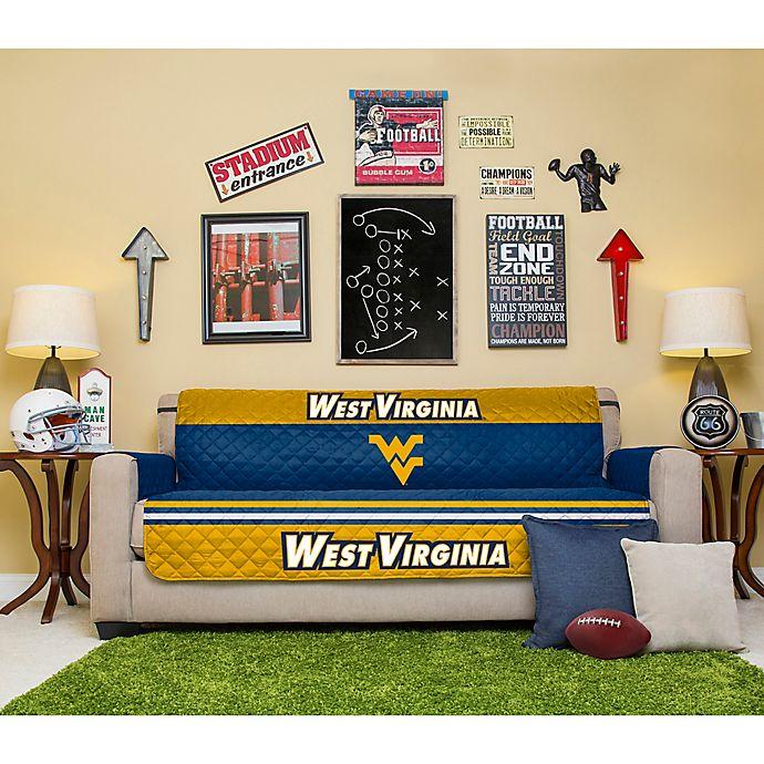 Astonishing West Virginia University Sofa Cover Bed Bath Beyond Frankydiablos Diy Chair Ideas Frankydiabloscom