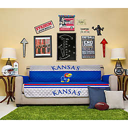 University of Kansas Sofa Cover