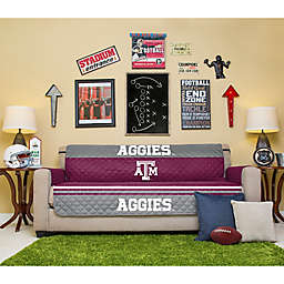 Texas A&M University Sofa Cover