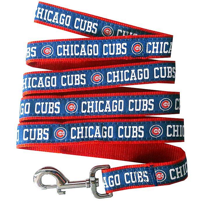 Alternate image 1 for MLB Chicago Cubs Large Pet Leash