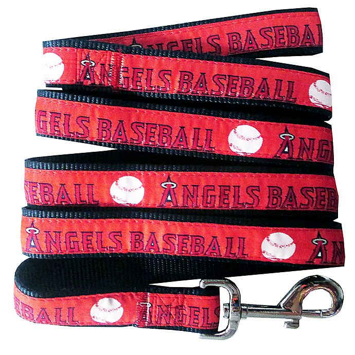 Alternate image 1 for MLB Los Angeles Angels Large Pet Leash