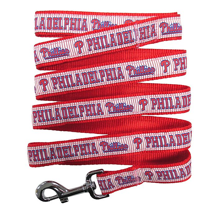 Alternate image 1 for MLB Philadelphia Phillies Medium Pet Leash