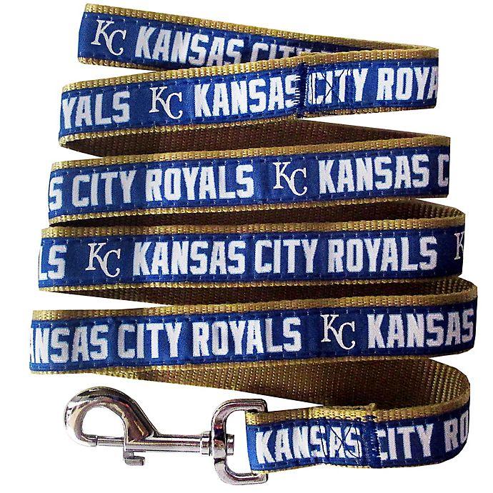 Alternate image 1 for MLB Kansas City Royals Large Pet Leash