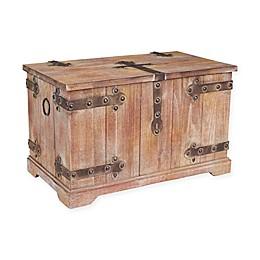 Household Essentials® Victorian Storage Trunk in Brown